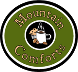 Mountain Comforts Coffee Cafe logo